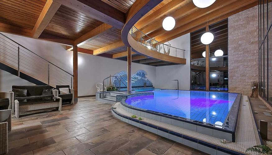 Hotel Posta 1899 piscina interna
